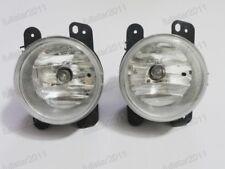 Front Bumper Clear Lens Fog Lights Lamps w/Bulbs for Chrysler PT Cruiser 06-09