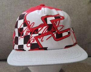 Vintage Dale Earnhardt Baseball Cap Hat Snapback Intimidator Gray Red White New