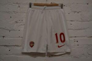 ARSENAL LONDON HOME FOOTBALL SHORTS 2012/2014 SOCCER NIKE MENS S #10
