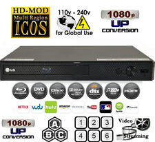 LG BPM25 Region Code Free Blu-Ray Player & DVD for WorldWide Use, USB, HDMI