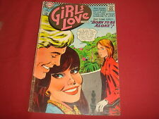 GIRLS LOVE STORIES #125 Young Romance Silver Age  DC Comics 1967 VG+