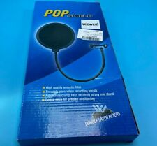 Neewer NW(B-3) 6 inch Studio Microphone Round Shape Wind Pop Filter Mask Shield