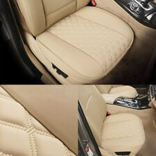 Extra Thick Soft Pu Leather Car Seat Cover Cushion Front Seat Bottom Protector