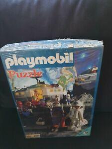 Vintage 1978 Playmobil Puzzle Space crue set no4030 MISB Greece 72pcs