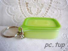 Porte clés  Tupperware  (keychain)  Miniature Boîte  Optimum  verte