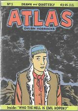 ATLAS #1 (VF/NM) DYLAN HORROCKS, DRAWN AND QUARTERLY