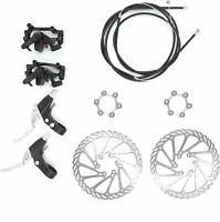 YaeGarden Front and Back Disk Brake Kit - 160mm for 80cc Gas Motorized Bicycle