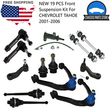 New 19 Pcs Front Suspension Kit For Chevrolet Tahoe 2001 2002 2003 2004 2005 06