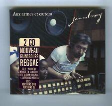 2 CDs (NEUF) SERGE GAINSBOURG AUX ARMES ET COETERA (REGGAE)