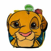 Simba Lion King Lunch Box Soft Zip Up Insulated Food Carry Pouch Child Kids New