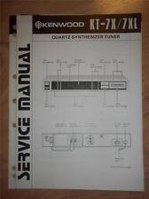 Kenwood Service Manual~KT-7X/7XL Tuner~Original Repair