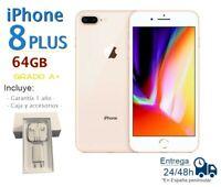 IPHONE 8 Plus 64GB Doré Reconditionné Libre / Qualité A Boîte Et Accessoires