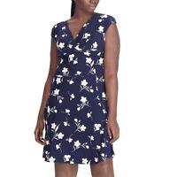 CHAPS PLUS SIZE Floral Empire Dress (Size 14W 16W 18W 20W 22W 24W) NWT MSRP $110