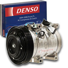 Denso Ac Compressor & Clutch for Acura Tl 3.2L 3.5L V6 2004-2008 Hvac Air ko