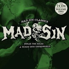MAD SIN - BREAK THE RULES/A TICKET INTO UNDERWORLD  2 CD NEU