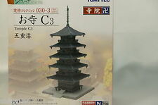 Tomytec n scale Japanese Temple 030-3 Five-storied Pagoda