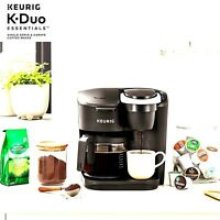 Keurig K-Duo Essentials Coffee Maker, Single K-Cup Pod & 12 Cup Brewer 2DayShip