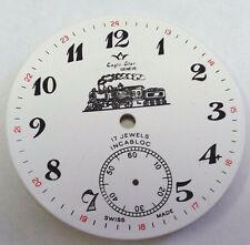 Eaglestar-Arnex pocket pocket watch dial for Ut-6498 38.5 mm with 13-24 track