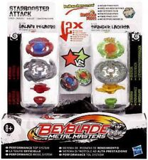 Beyblade Metal Masters Starbooster Attack 2-Pack BB70B