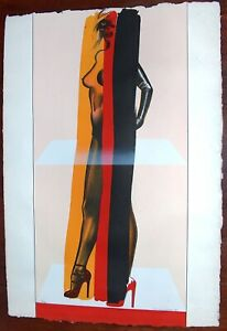 ALLEN JONES Lithograph Signed Numbered 1976 Original Pop Art Erotica Rare