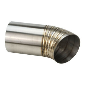 Proflow PFESS-PCDUMP300-45 Pie Cut Welded 304 Stainless Steel, Pump Pipe Tip, 3.