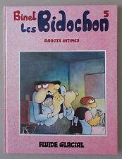 Binet  LES BIDOCHON 5   ** RAGOTS INTIMES ** EO 1983