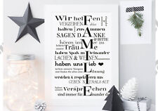✿ FineArt Kunstdruck Bild Poster Familie Fine Art Din A4 Familienregeln Geschenk