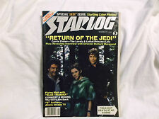 STARLOG #71 STAR WARS Carrie Fisher Article Death Star FOLD OUT June 1983