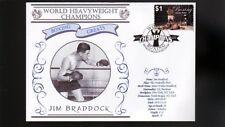 JIM BRADDOCK HEAVYWEIGHT WORLD CHAMPION BOXING COV