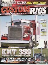 OVERDRIVE'S CUSTOM RIGS TRUCKING MAGAZINE ~ SUMMER 2010 ~ NEW