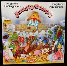 PLAYSCHOOL Humpty Dumpty Songs From Kindergarten LP L27116 Gatefold