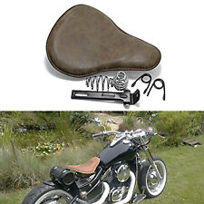 "Custom For Honda Rebel 250 CMX250C 13"" BIG Leather Motorcycle Spring Solo Seat"