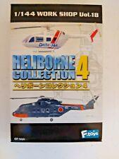 F-Toys Heliborne 1:144 Helicopter Model Ec-145 Bk-117 Doctor Copter Ft_H4_3Sp
