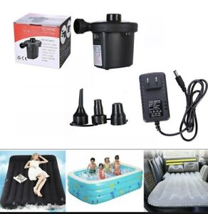 Multi-function Two Way Electric Air Pump XG-668A Inflator And Deflator NEW