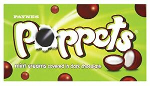 Poppets Mint Cream Cartons (Pack of 36)