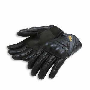 Ducati Scrambler Daytona C1 Motorcycle Motorbike Short Vented Black Gloves