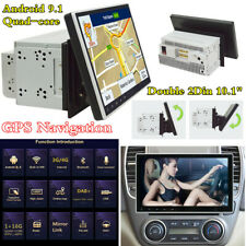 """10.1"""" 2Din Android 9.1 4-core GPS Sat Navi Head Unit Car Stereo Radio MP5 Player"""