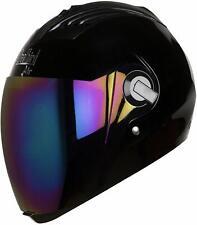 Steelbird Air Sba-2 Full Face Glossy Black Motorcycle Helmet With Extra Visor-L