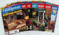 The Family Handyman Magazine ~ 6 Issues 1992 ~ 1 Issue 1993 ~ DIY Projects