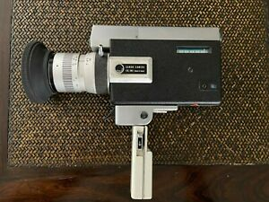 Vintage Super 8 CANON 518 zoom 8mm Cinema Film Movie Camera - Tested & Wor