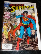 SUPERMAN Comic - 2nd Series - No 10 - Date 10/1987 - DC Comics