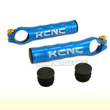 KCNC BE1 Ultralight 7075 Alloy Bar Ends + BAR END Plugs , Blue