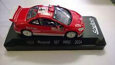 Peugeot 307 aumenti WRC Carlo 2004 Macchina Miniatura 1/43 Collezione Solido