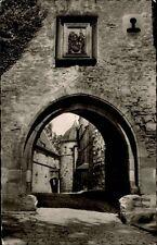 Kronach Bayern AK ~1950/60 Veste Partie Zeughaustor Oberfranken Bauwerk gelaufen