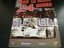24 HOURS LE MANS ANNUAL YEARBOOK ACO 1999 BMW AUDI A8R TOYOTA GT-ONE PANOZ S