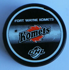 Vintage CHL Fort Wayne Komets Official Puck Central Hockey League