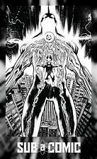 ULTRAMEGA BY JAMES HARREN #4 COVER C 1:5 B&W VIRGIN VARIANT (IMAGE 2021) COMIC