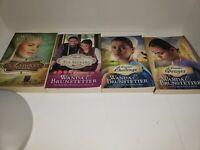 Wanda E. Brunstetter mixed lot of 4 assorted Amish romance books