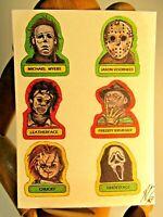Horror Movie Icons ACEO Print Card By Artist Phil Born Freddy Jason Chucky