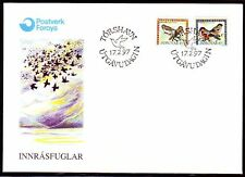 Färöer 1996 FDC Mi.315/16 Tiere Animals | Vögel Birds